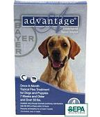 advantage flea for dogs